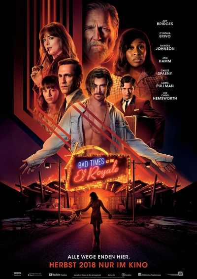 Bad Times at the El Royale - Kinostart: 11.10.2018