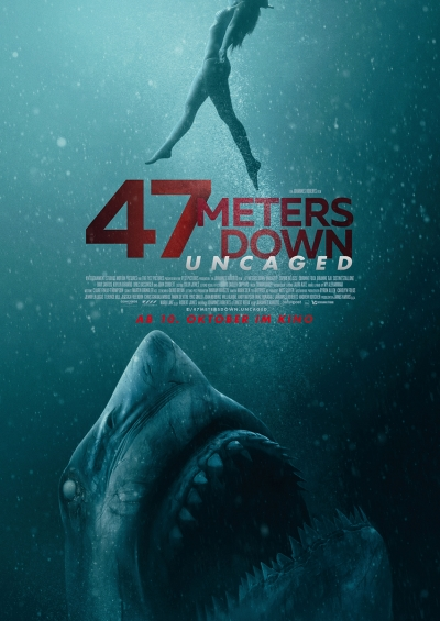 47 Meters Down: Uncaged - Kinostart: 10.10.2019