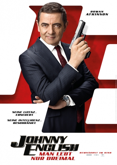 Johnny English: Man lebt nur Dreimal - Kinostart: 18.10.2018