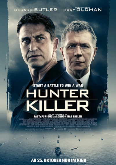 Hunter Killer - Kinostart: 25.10.2018