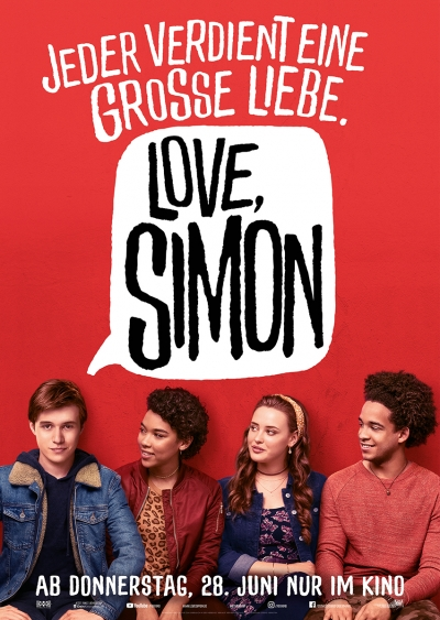Love, Simon - Kinostart: 28.06.2018