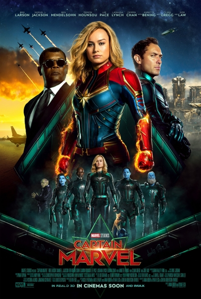 Captain Marvel - Kinostart: 07.03.2019